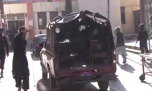 کوئٹہ: پولیس ٹرک کے قریب دھماکا، 7 افراد جاں بحق