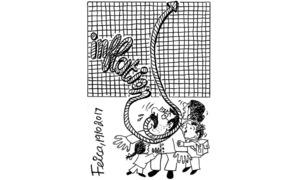 Cartoon: 19 October, 2017