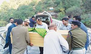 Rare LoC officialdom compassion after woman's death in AJK