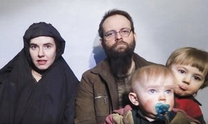 Hostage family held in Pakistan for five years: CIA