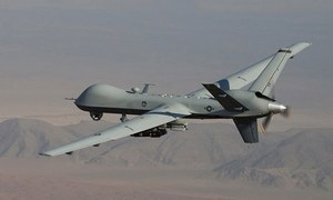 12 killed in drone strike near Pak-Afghan border