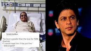 A cancer patient wants to meet Shah Rukh Khan, Twitter users try to help her dream come true