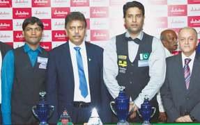 Asif downs Qadir to lift ranking snooker title