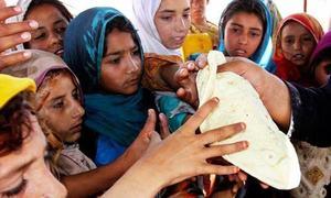 Small slice for poor in Pakistan's growing economic pie