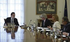 Spanish cabinet meets to revoke self-government in Catalonia