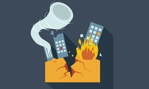 How effective is Karachi's disaster response mechanism?