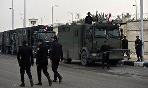 54 Egyptian police killed in ambush