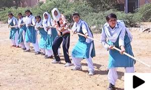 لڑکیوں نے طاقت کا زبردست مظاہرہ کیا