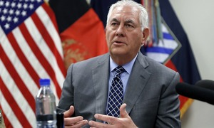 Tillerson urges Pakistan to step up action against terrorist 'safe havens'