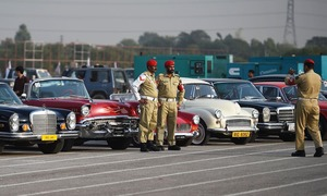 Vintage cars, heavy bikes set off on CPEC route as part of Motor Rally