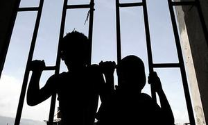 Boy, held in chains, recovered from seminary in Sindh