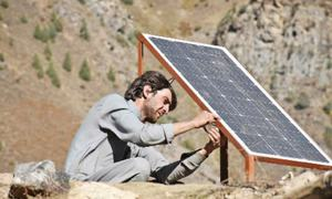 Solar energy panels given to Kaghan village