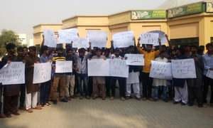 UET Taxila students end protest after VC meets demands