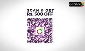Here's the Daraz QR code you can use for additional discounts during Black Friday Sale