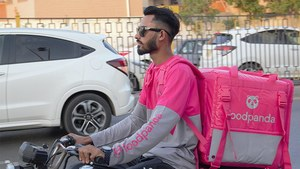 Foodpanda's new pink look signals a more modern delivery experience