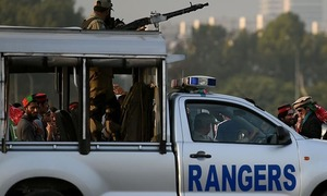 Rangers' deployment in Islamabad extended for 90 more days