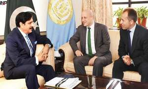 National security advisor discusses Pak-Afghan relations with British high commissioner