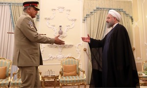 Pakistan determined to expand ties with Iran: Bajwa