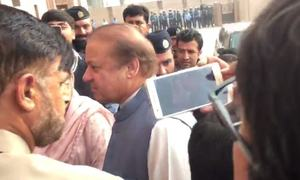 Nawaz's counsel argues in favour of clubbing corruption references, court reserves judgement