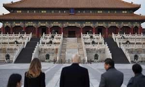 Trump in China to talk trade and North Korea's 'cruel dictatorship'
