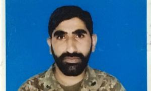 Sepoy martyred, 5 terrorists killed in exchange of fire on Pak-Afghan border: ISPR