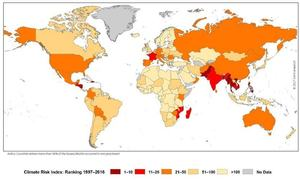 Pakistan 7th most vulnerable country to climate change, says Germanwatch
