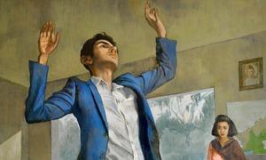 Salman Toor mixes art with fiction