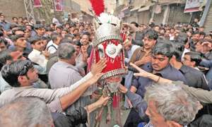 Tight security ensures peaceful Chehlum processions