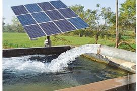Slow progress on solar-powered tubewells