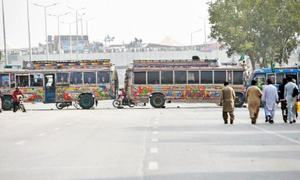 Footprints: Closing the roads on commuters
