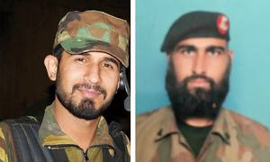 2 soldiers martyred in attack on Pak-Afghan border checkpost: ISPR
