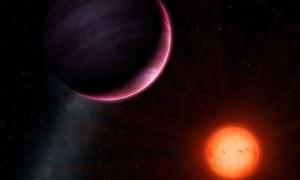 ایسا حیران کن سیارہ جو اپنے سورج کے آدھے سائز کا ہے