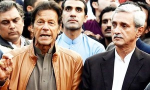 Verdict reserved on disqualification pleas against Imran, Tareen