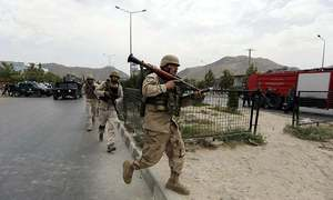 Pakistan lodges protest with Afghanistan over attacks