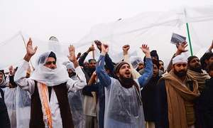 Cold response from govt, public dampens resolve of religious parties' protesters