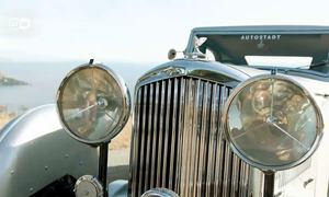 This 1935 Bentley is a rare beauty