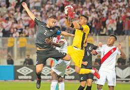 Peru down New Zealand to complete World Cup lineup