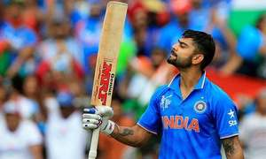 Break-seeking Kohli says he's not cricket robot
