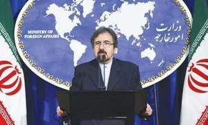Iran says 'biased' French policy stoking Mideast crises