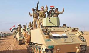 IS routed from its last Iraqi base
