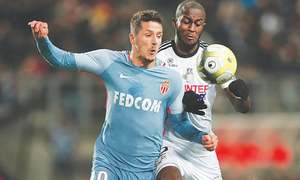 Monaco held to 1-1 draw at Amiens