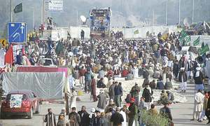 Breakthrough in sight after talks with Islamabad protesters