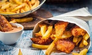 تلے ہوئے کھانے صحت کے لیے تباہ کن