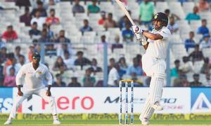 India ride on  Rahul-Dhawan stand to surge ahead in Kolkata Test