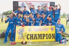 Afghanistan rout Pakistan to clinch U-19 Asia Cup title
