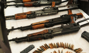 Weapons seized in operation