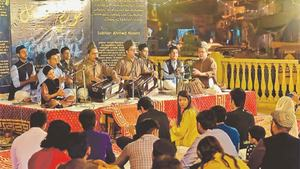 Qawwali at Pakistan Chowk introduces performers to a diverse audience