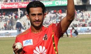 بنگلہ دیش پریمیئر لیگ: حسن علی پہلے ہی میچ میں مرد میدان قرار