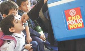 Polio drive begins across Sindh