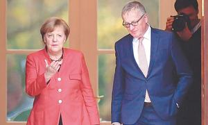 Merkel fighting to stay Germany's 'eternal chancellor'